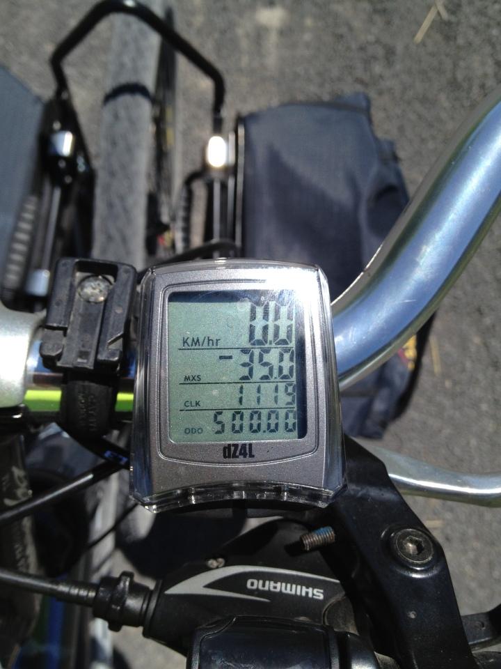500 KM!