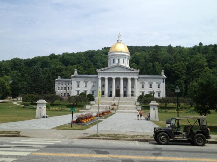 Capitol of Vermont