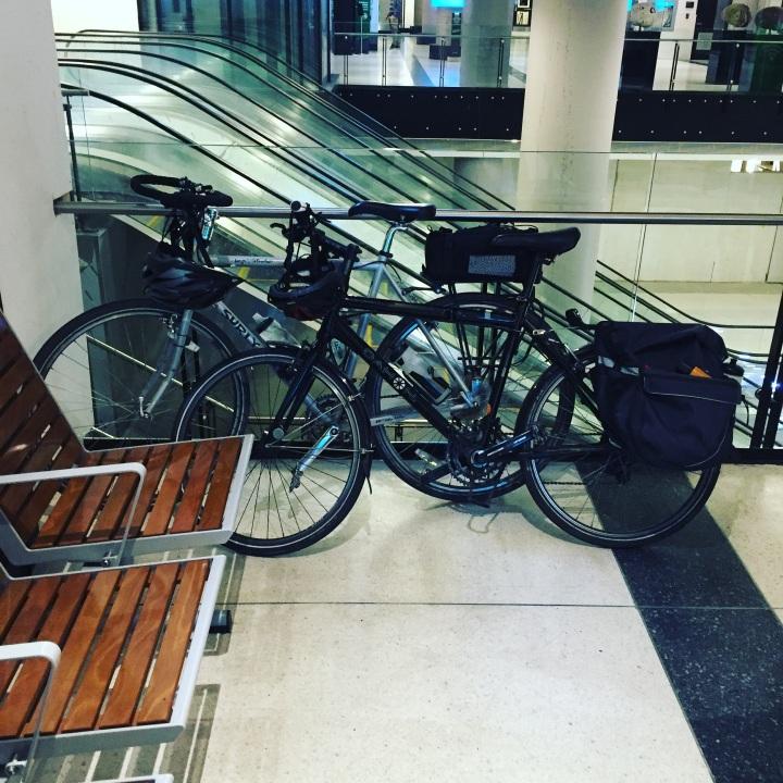 bikes at train station.JPG